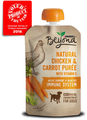 Purina Beyond Purees Natural Chicken and Carrot Puree With Vitamin E