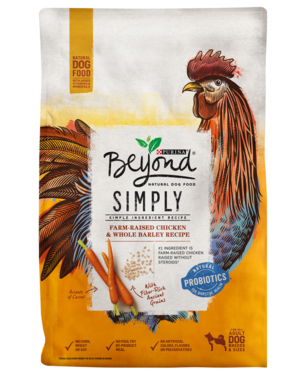 Purina Beyond Simply 9 White Meat Chicken & Whole Barley Recipe