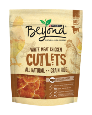 Purina Beyond Natural Dog Snacks White Meat Chicken Cutlets
