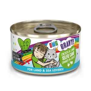 B.F.F. Best Feline Friend Oh My Gravy! Selfie Cam - Chicken & Lamb Dinner In Gravy
