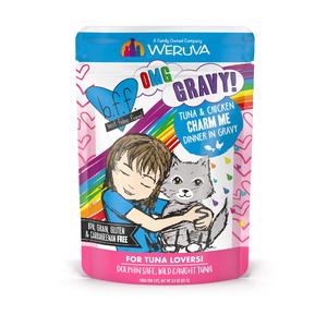B.F.F. Best Feline Friend Oh My Gravy (OMG) Charm Me - Tuna & Chicken Dinner In Gravy