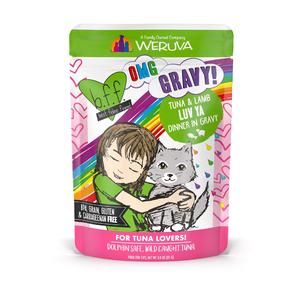 B.F.F. Best Feline Friend Originals Tuna & Lamb Luv Ya Cat-Tastic Recipe In Gravy