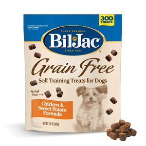 Bil Jac Grain Free Treats Chicken & Sweet Potato Formula