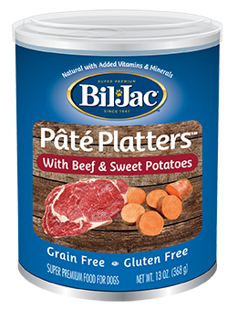 Bil Jac Pate Platters With Beef & Sweet Potatoes