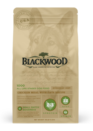 Blackwood 1000 All Life Stages Everyday Diet Chicken Meal With Oats