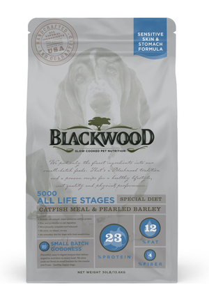 Blackwood 5000 All Life Stages Special Diet - Catfish Meal & Pearled Barley