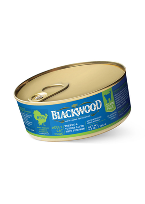 Blackwood Adult Cat Food Turkey & Turkey Liver With Pumpkin