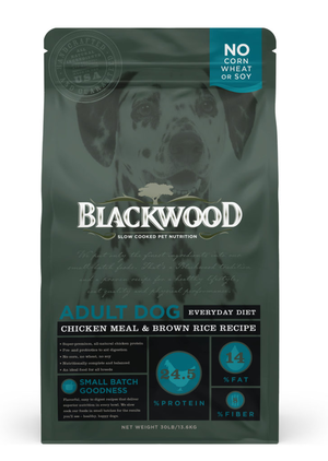 Blackwood Adult Dog Everyday Diet - Chicken Meal & Brown Rice Recipe