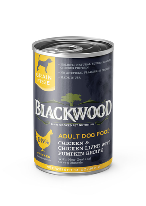 Blackwood Adult Dog Food Chicken and Vegetable Recipe