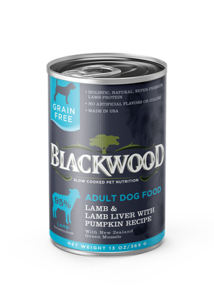 Blackwood Adult Dog Food Lamb & Lamb Liver With Pumpkin