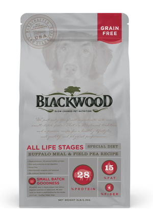 Blackwood All Life Stages Special Diet - Buffalo Meal & Field Pea Recipe