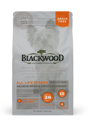 Blackwood All Life Stages Special Diet - Salmon Meal & Field Pea Recipe