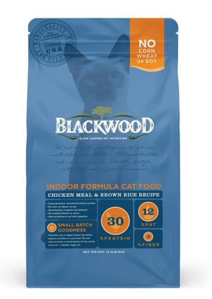 Blackwood Indoor Formula Cat Food Chicken Meal & Brown Rice Recipe