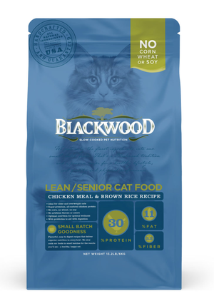 Blackwood Lead/Senior Cat Food Chicken Meal & Brown Rice Recipe