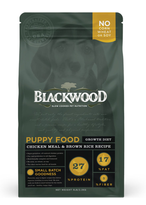 Blackwood Puppy Food Growth Diet - Chicken Meal & Brown Rice Recipe