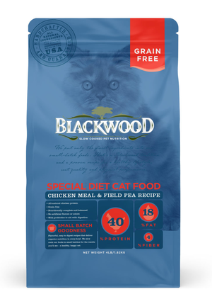 Blackwood Special Diet Cat Food Chicken Meal & Field Pea Recipe