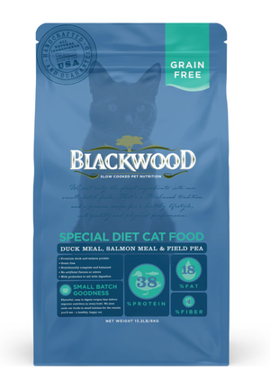 Blackwood Special Diet Cat Food Duck Meal, Salmon Meal & Field Pea
