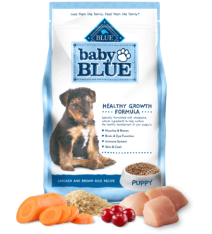 Blue Buffalo Baby Blue Chicken and Brown Rice Recipe For Puppies