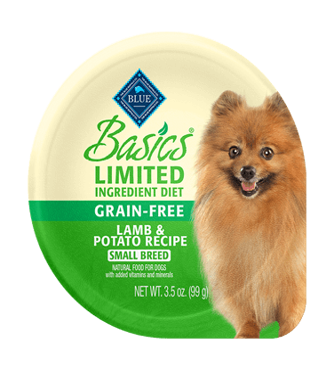 Blue Buffalo Basics Grain-Free Lamb and Potato Recipe For Small Breed Dogs