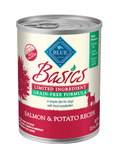 Blue Buffalo Basics Grain-Free Salmon and Potato Recipe