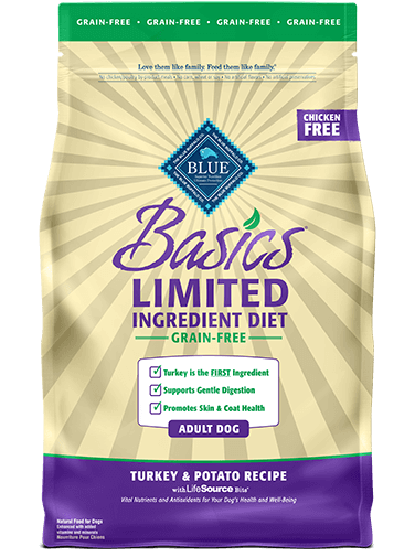 Blue Buffalo Basics Limited Ingredient Grain-Free Turkey & Potato Recipe For Adult Dogs