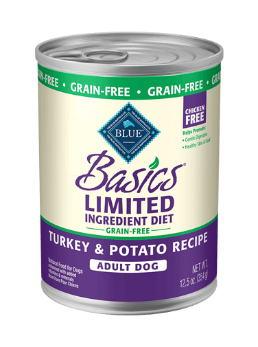 Blue Buffalo Basics Grain-Free Turkey and Potato Recipe