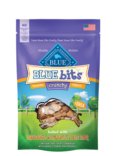 Blue Buffalo Blue Bits Crunchy Banana and Peanut Butter