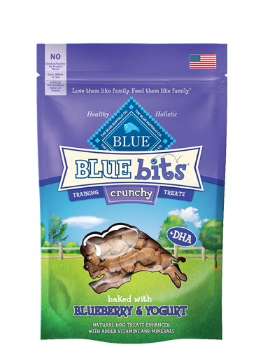 Blue Buffalo Blue Bits Crunchy Blueberry and Yogurt