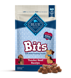 Blue Buffalo Blue Bits Soft-Moist Tender Beef Treats