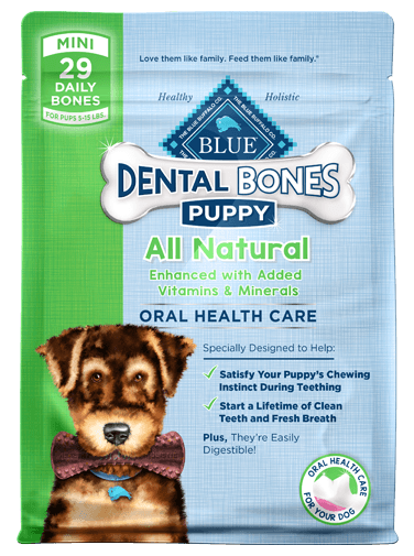 Blue Buffalo Dental Bones Mini Puppy