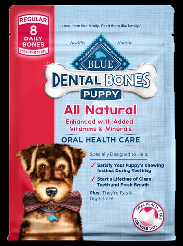 Blue Buffalo Dental Bones Regular Puppy
