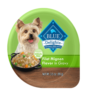 Blue Buffalo Divine Delights Filet Mignon Flavor In Hearty Gravy