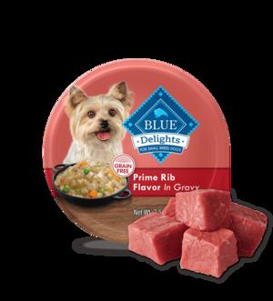 Blue Buffalo Divine Delights Prime Rib Flavor In Hearty Gravy
