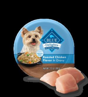 Blue Buffalo Divine Delights Rotisserie Chicken Flavor In Hearty Gravy