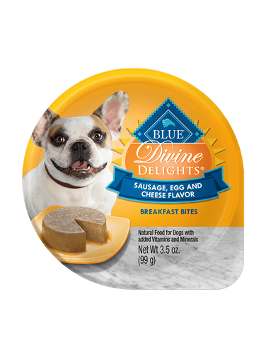 Blue Buffalo Divine Delights Sausage, Egg and Cheese Flavor Breakfast Bites