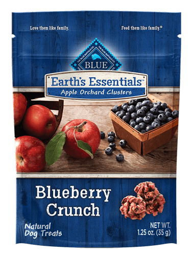 Blue Buffalo Earth's Essentials Apple Orchard Clusters Blueberry Crunch