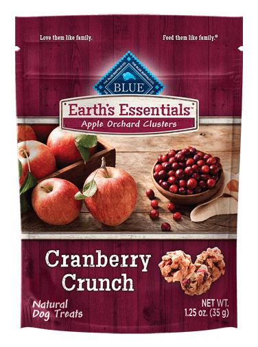 Blue Buffalo Earth's Essentials Apple Orchard Clusters Cranberry Crunch