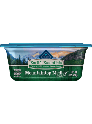 Blue Buffalo Earth's Essentials Mountaintop Medley In Gravy
