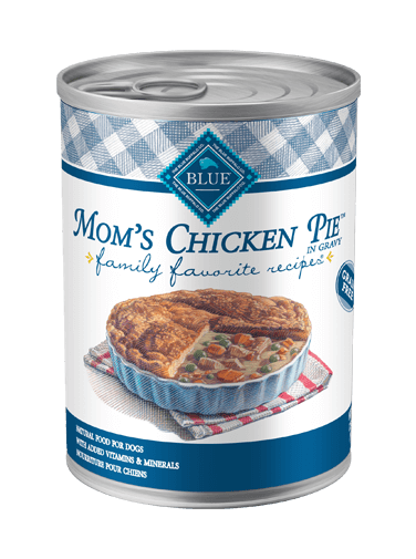Blue Buffalo Family Favorite Recipes Mom's Chicken Pie In Gravy