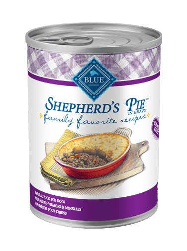 Blue Buffalo Family Favorite Recipes Shepherd's Pie In Gravy