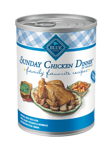 Blue Buffalo Family Favorite Recipes Sunday Chicken Dinner In Gravy