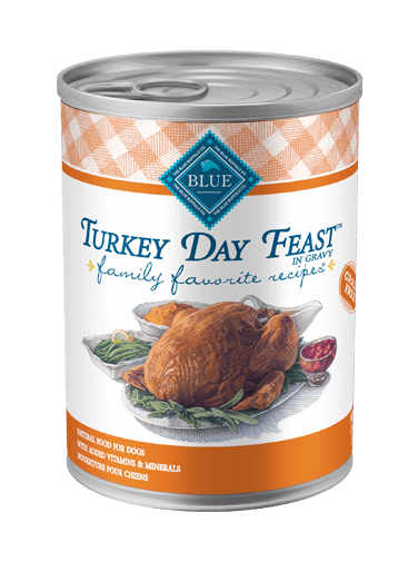 Blue Buffalo Family Favorite Recipes Turkey Day Feast In Gravy