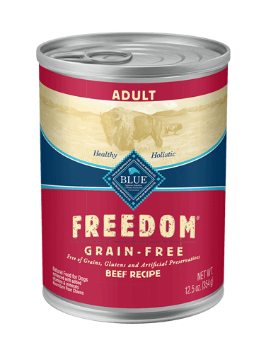 Blue Buffalo Freedom Beef Recipe For Adult Dogs