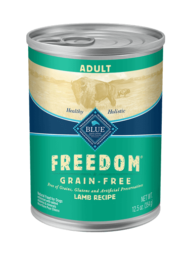 Blue Buffalo Freedom Lamb Recipe For Adult Dogs