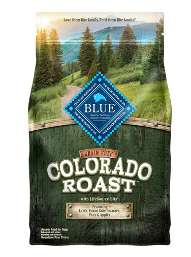 Blue Buffalo Grain-Free Colorado Roast Lamb, Yukon Gold Potatoes, Peas & Apples