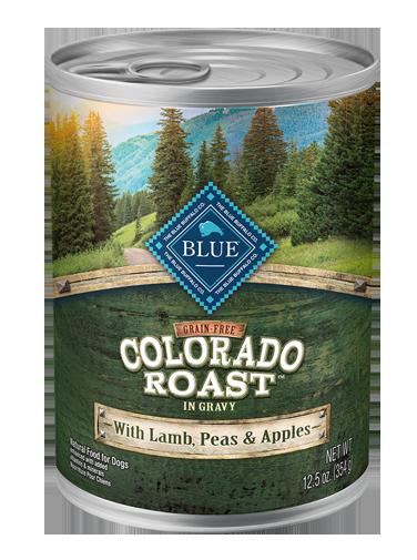 Blue Buffalo Grain-Free Colorado Roast With Lamb, Peas & Apples