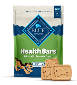 Blue Buffalo Health Bars Baked with Apples and Yogurt