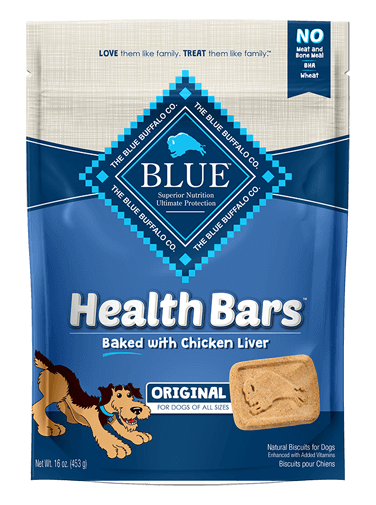 Blue Buffalo Health Bars Baked with Chicken Liver