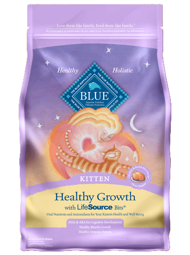 Blue Buffalo Healthy Growth Chicken and Brown Rice Recipe For Kittens