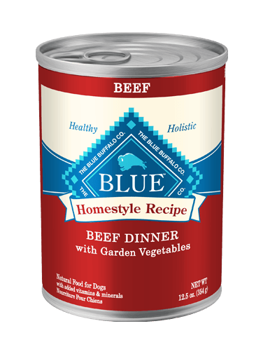 Blue Buffalo Homestyle Recipe Beef Dinner with Garden Vegetables